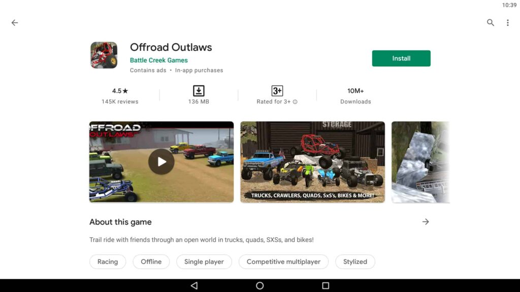 Download Offroad Outlaws PC