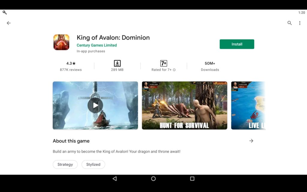 Install Dominion Game