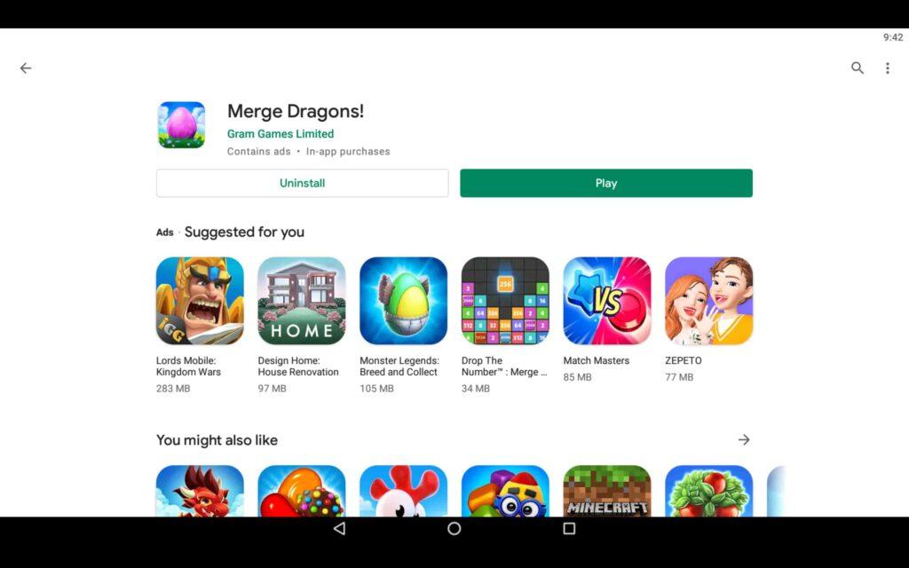 Jogue Merge Dragons no PC