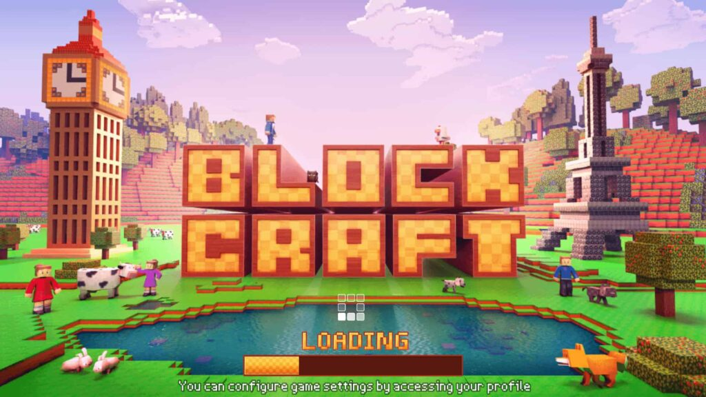 Juego de PC Block Craft 3D